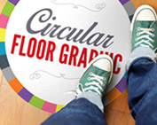 Floor Graphics - Circle