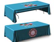 Table Throws - 3 Sided